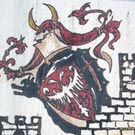 Application of coat of arms of Golubac (detail)