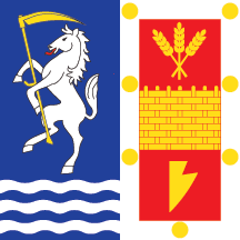 Flag of Bačka Palanka